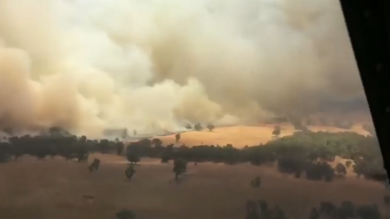 Three accused of 'heinous' arson in NSW