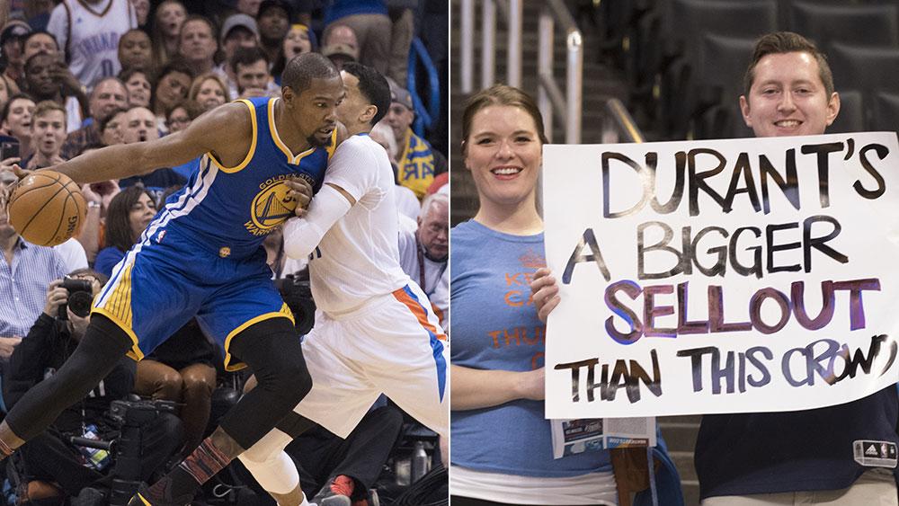 Durant returns to OKC