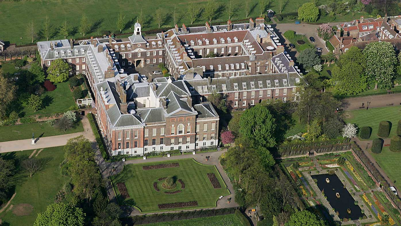 Kensington palace has a very common household problem for Palace design homes