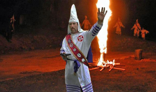 Wife and stepson of Klan leader charged over his death