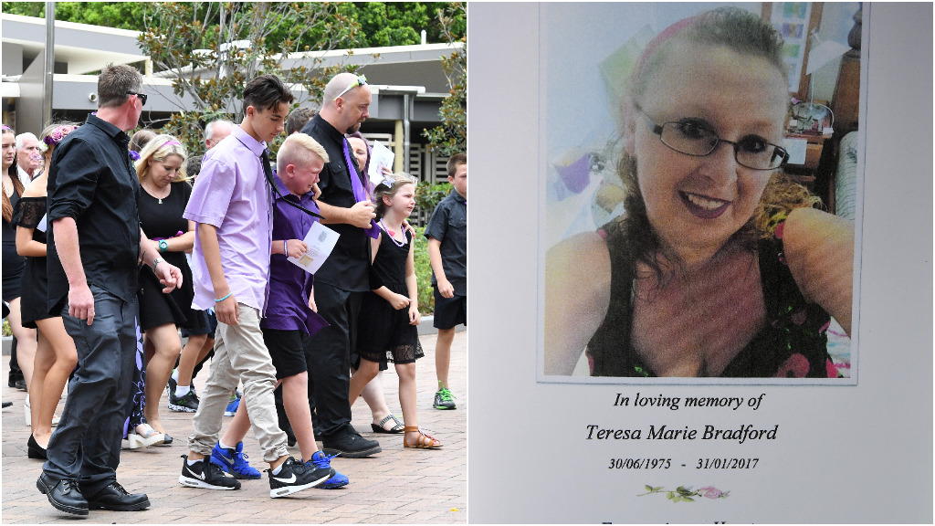 Loved ones farewell Gold Coast mother slain by partner