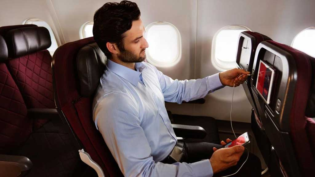 Qantas passengers will soon get to use Netflix and Spotify inflight