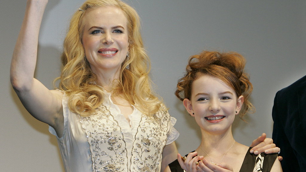Pullman's first novel was adapted in a movie called 'The Golden Compass' starring Aussie actor Nicole Kidman and British actress Dakota Blue Richards. (AAP)