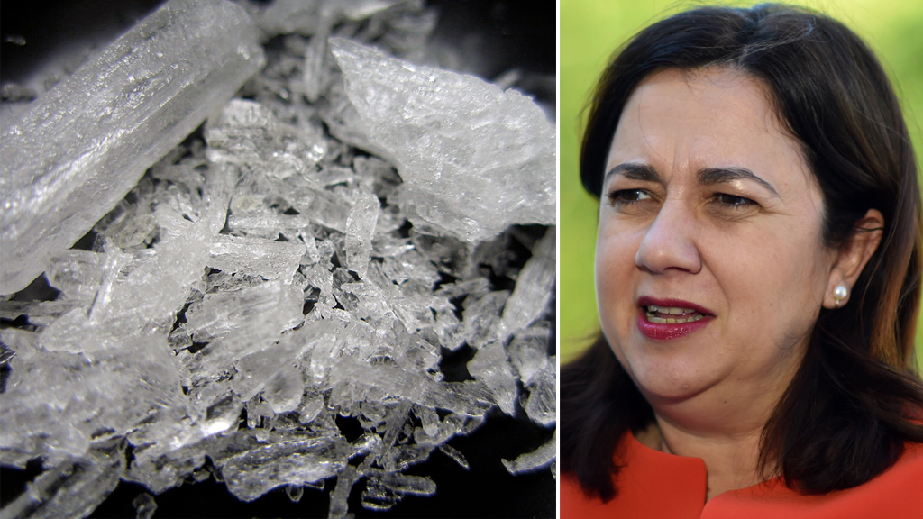 Qld premier vows to tackle ice scourge