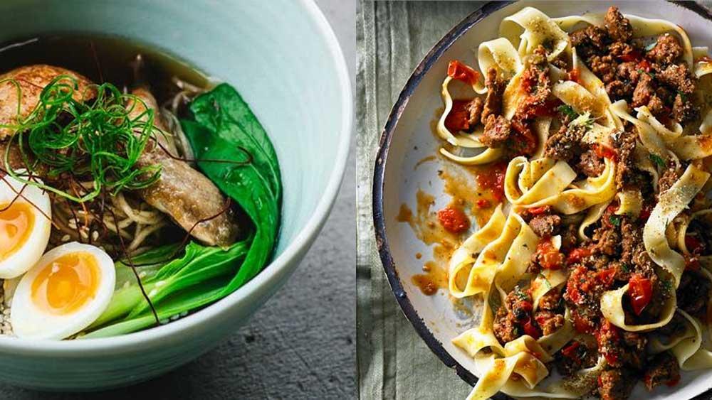 Food fight: noodle recipes v pasta recipes (ramen v ragu)