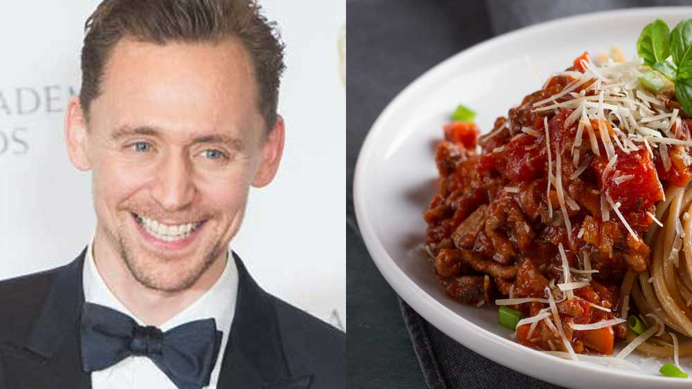 Tom Hiddleston's GQ cover story Bolognese