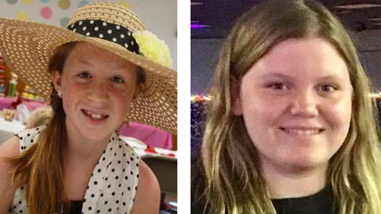 Bodies of two missing girls found on hike track