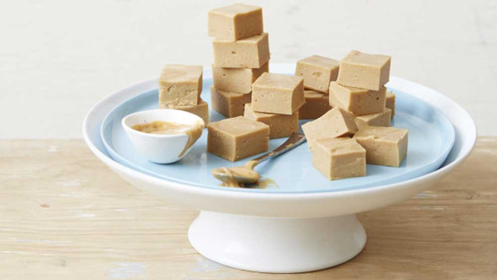 Supercharged peanut butter fudge