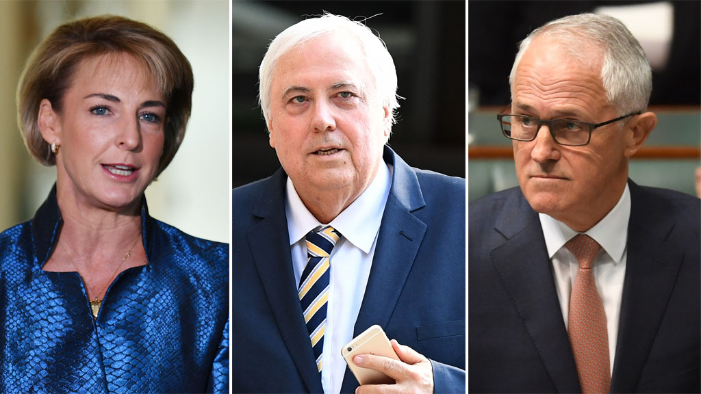 Palmer sues PM and minister for $10m each