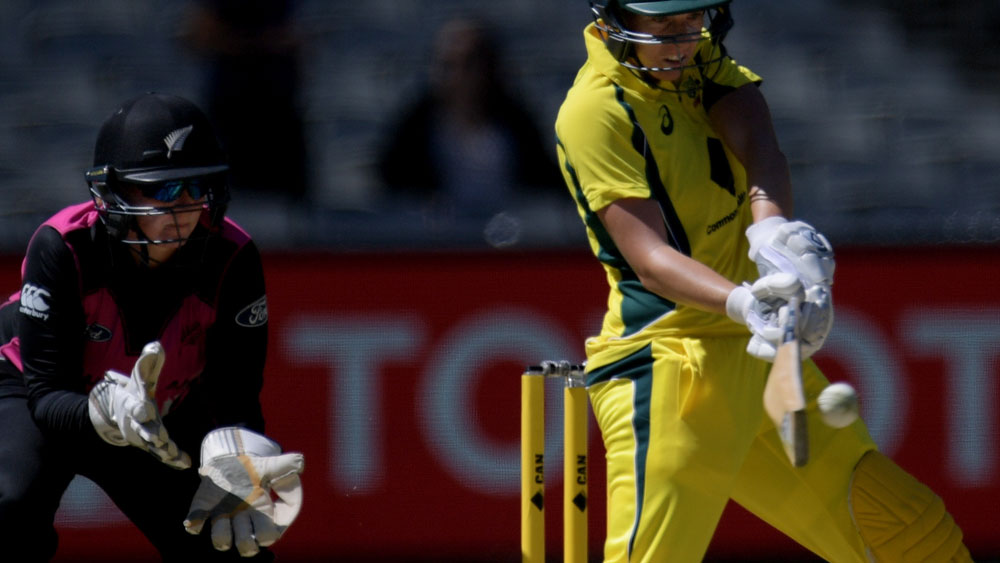 Elyse Villlani played a crucial innings for Australia. (AAP)