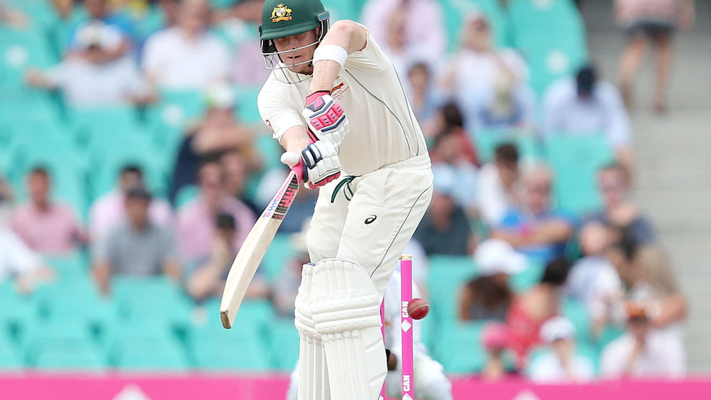 Australian captain Steve Smith scored a century in a tour match in India. (AAP)