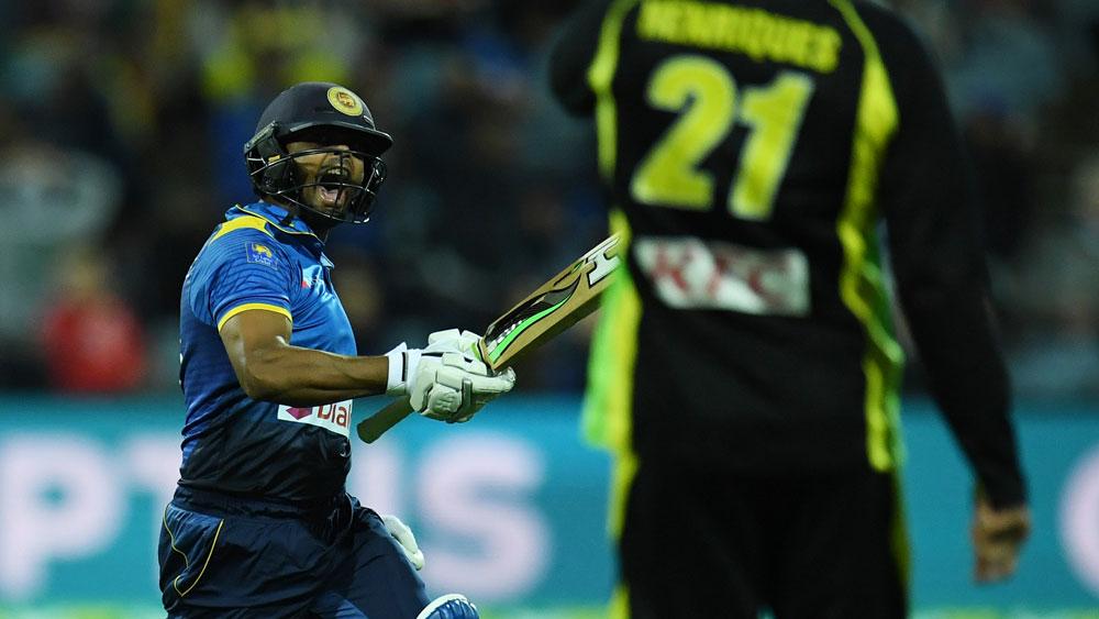 Gunaratne blasts Sri Lanka to T20 win