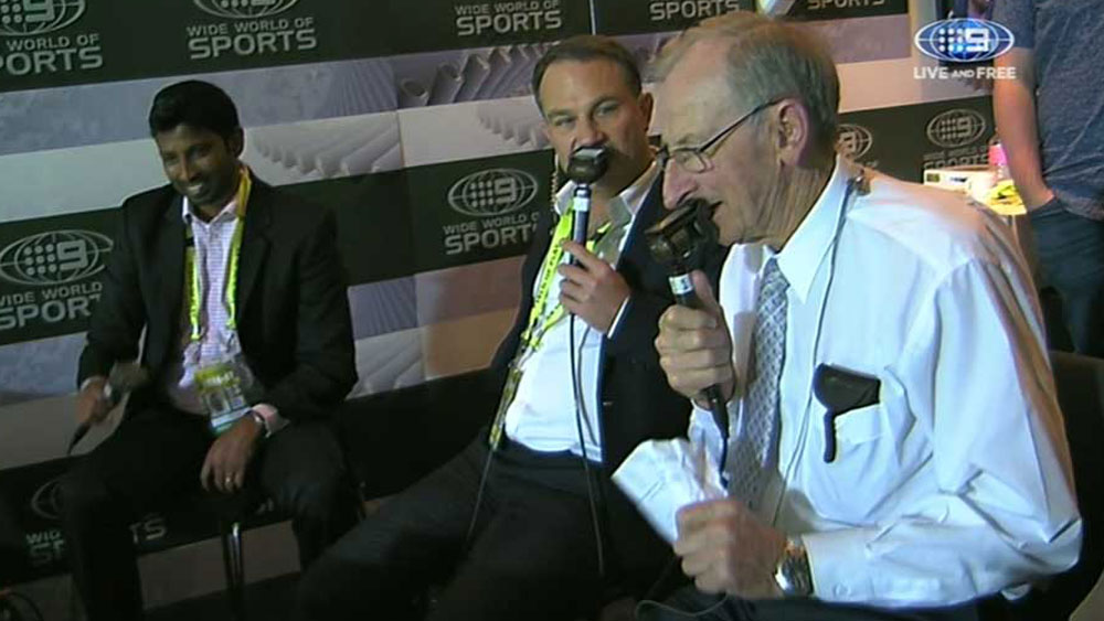 Bee Gees bring out the best in Bill Lawry