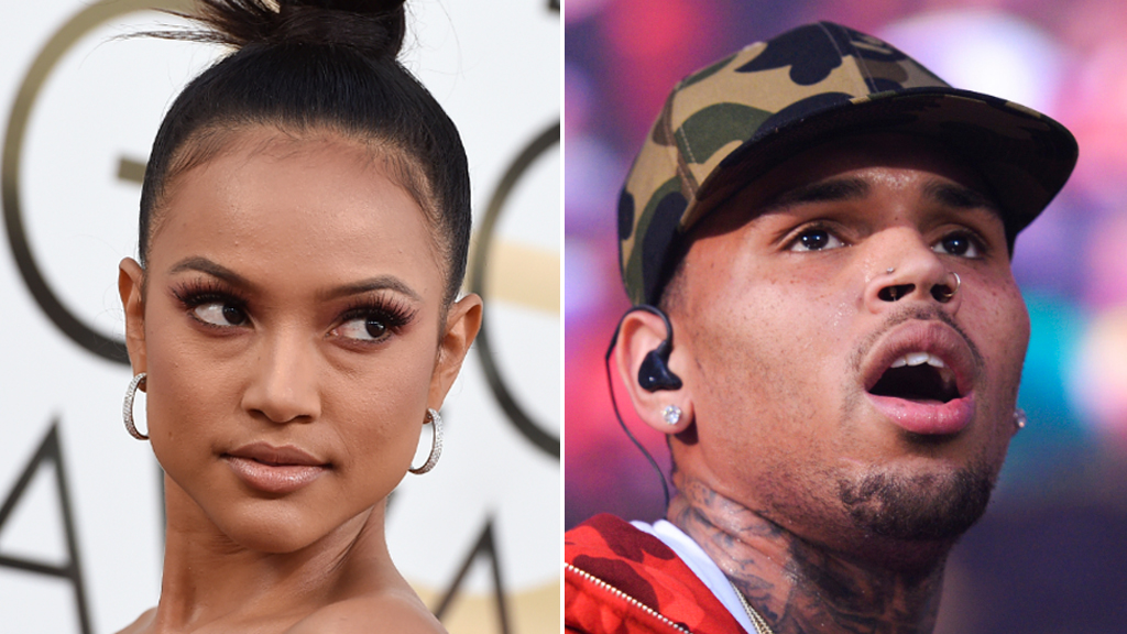 Chris Brown issued restraining order from model ex-girlfriend