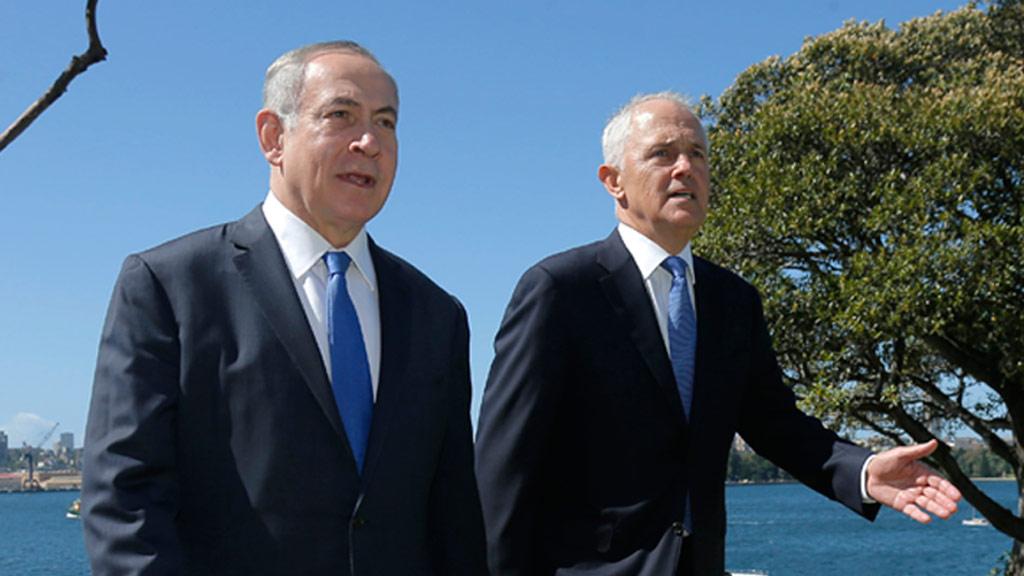 Israel PM rebukes Rudd, Hawke on Palestine
