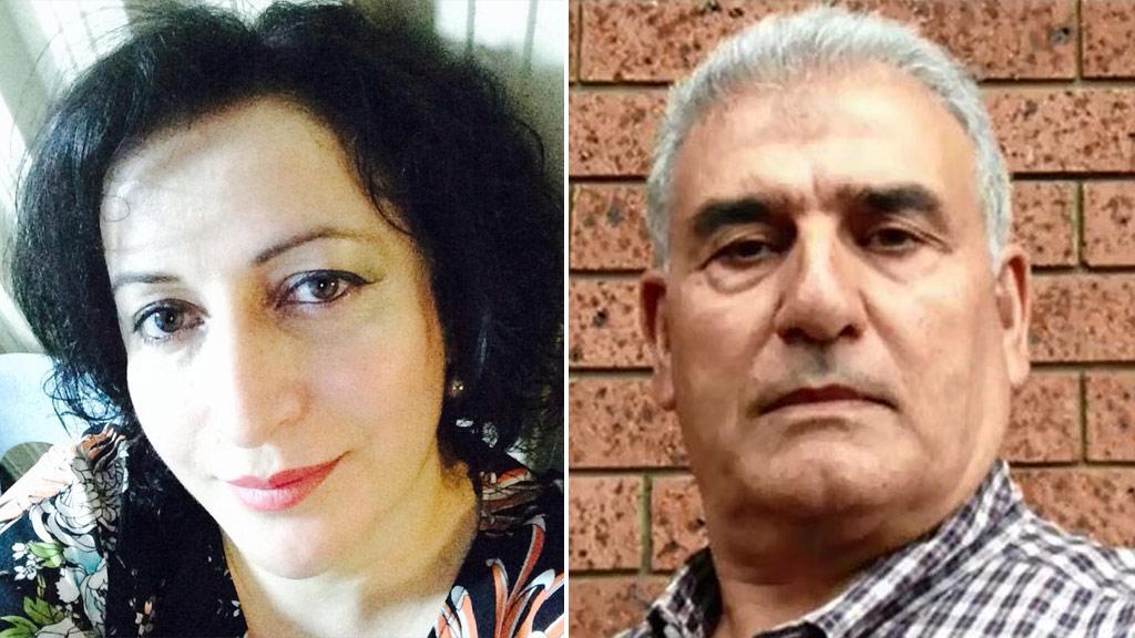 Salwar Haydar (left) and her husband Haydar Haydar. (Supplied)