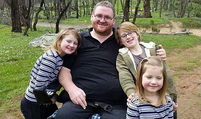 Swallowed chicken bone leaves Victorian man a quadriplegic