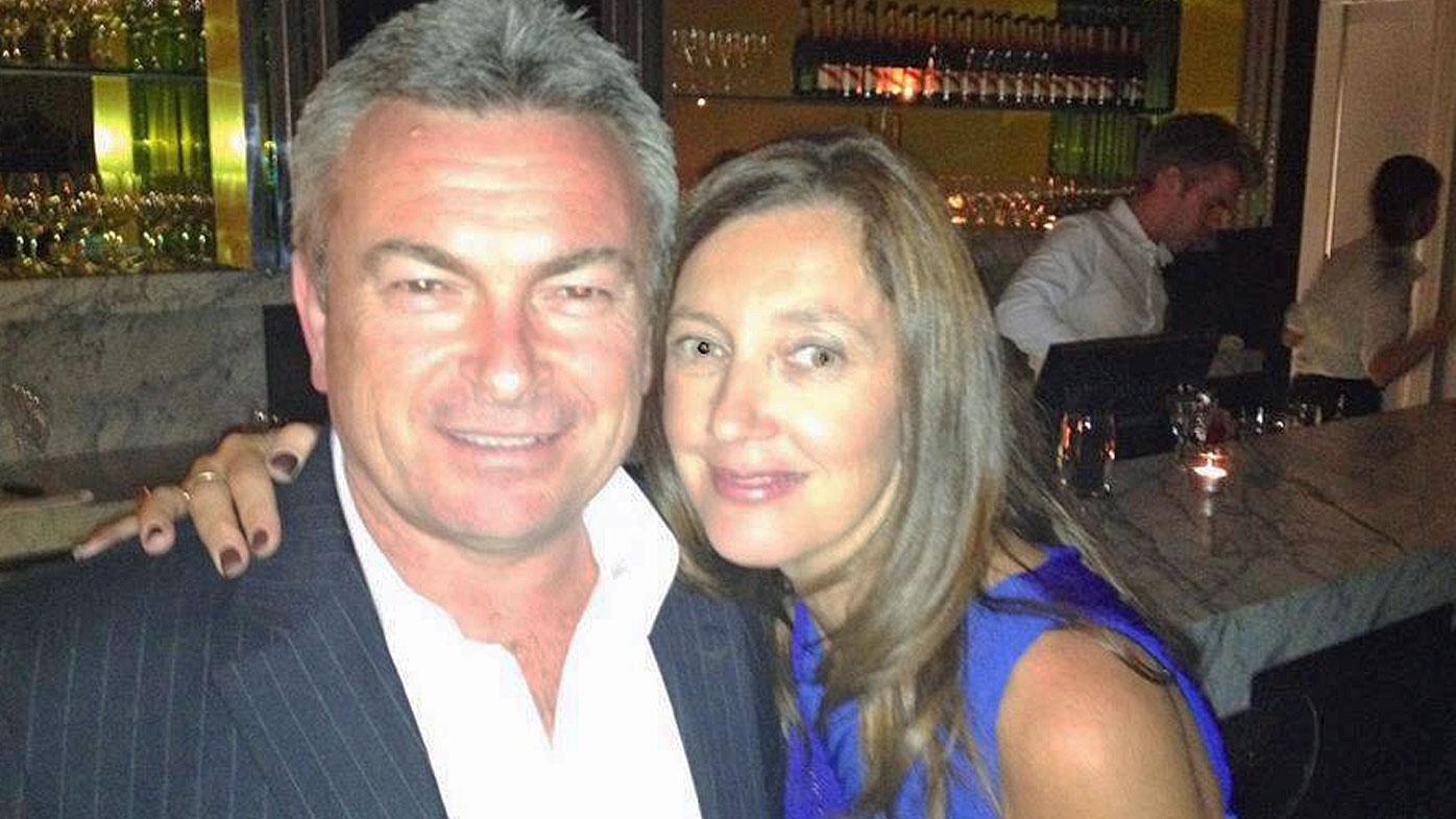 Karen Ristevski's Facebook profile photo with her husband Borce. (Facebook)
