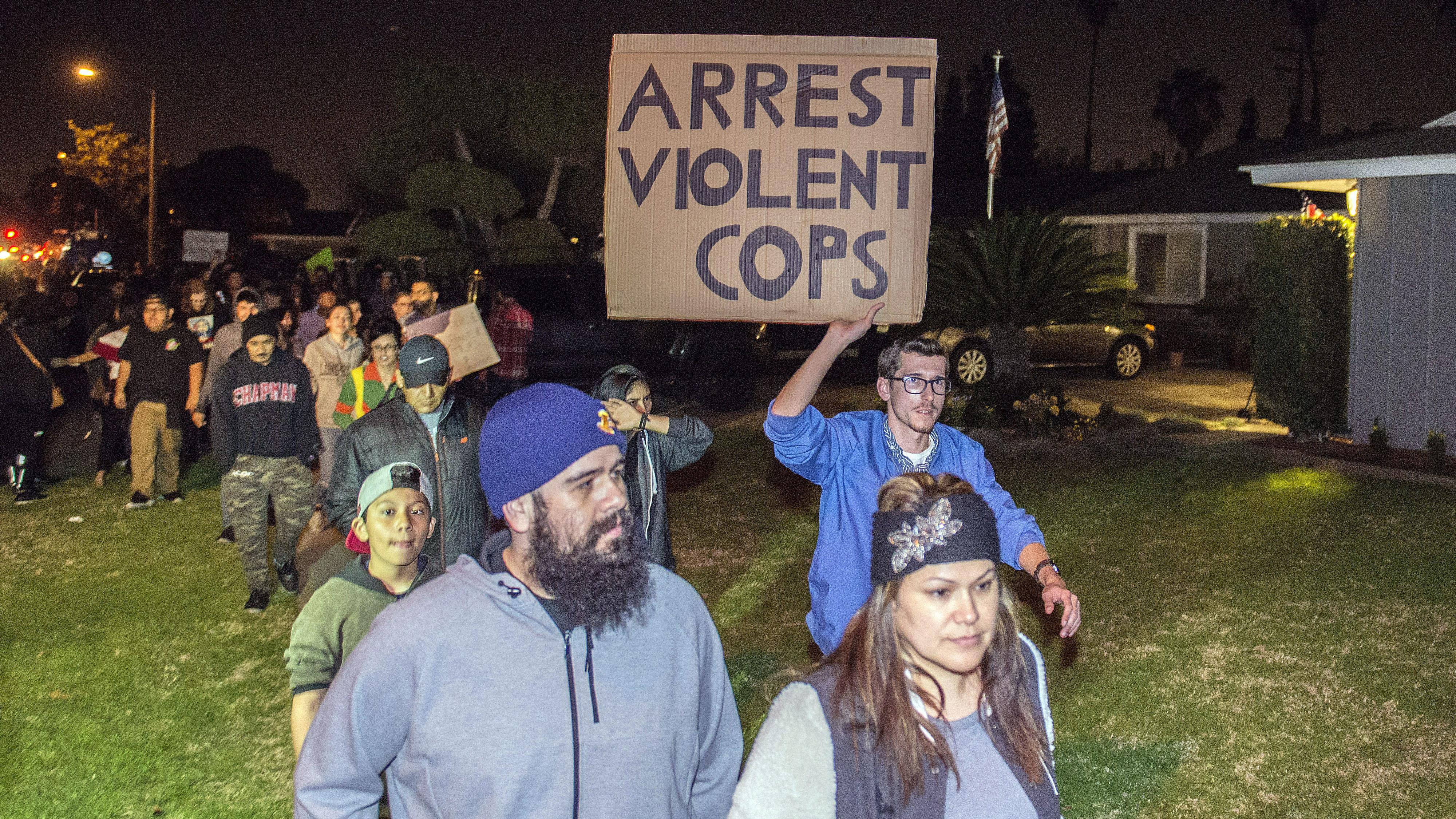 Protests erupt after off-duty officer pulls gun on boys