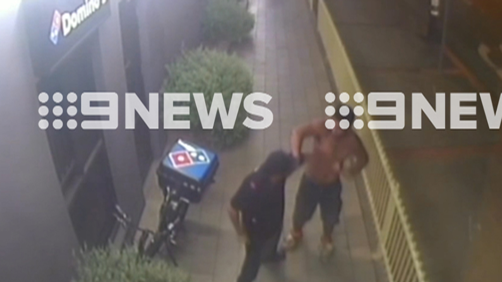 The man allegedly demanded pizza. (9NEWS)