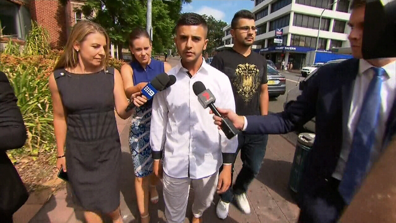 Bashar Hawchar pleaded guilty to dangerous driving causing grievous bodily harm last year. (9NEWS)