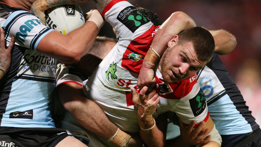 Dugan unhappy with Dragons in NRL