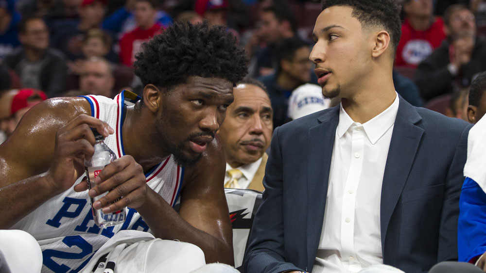 NBA No.1 draft pick Ben Simmons won't play this season. (AAP)