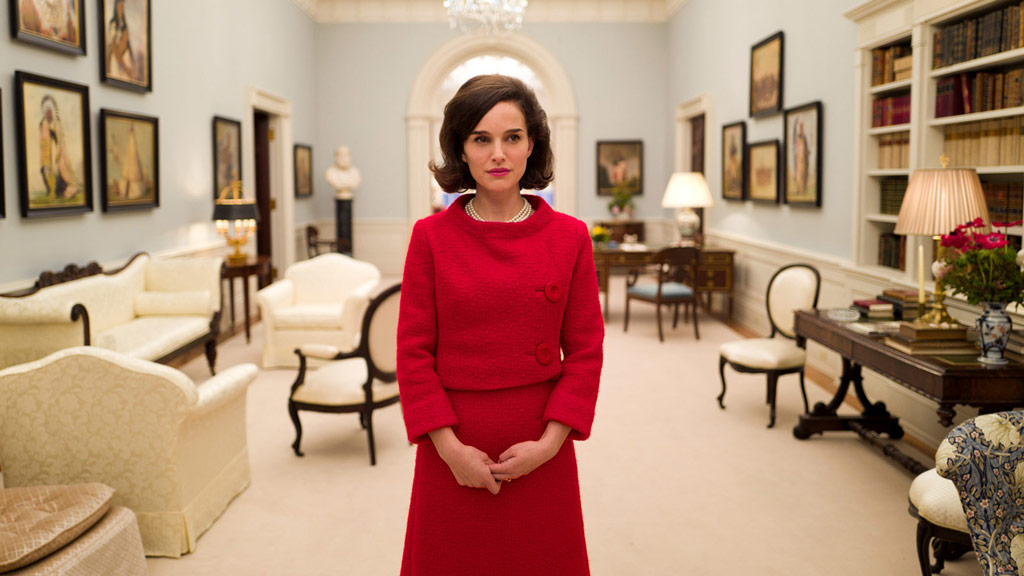 Biographical drama fim follows the life of Jackie Kennedy following the death of husband and US President John F. Kennedy. (Fox Searchlight Pictures)