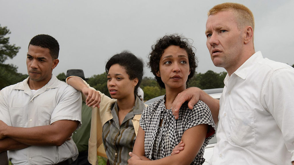 Historical drama film Loving follows the true story of an interracial American couple who were imprisoned for marrying one another. (Focus Features)
