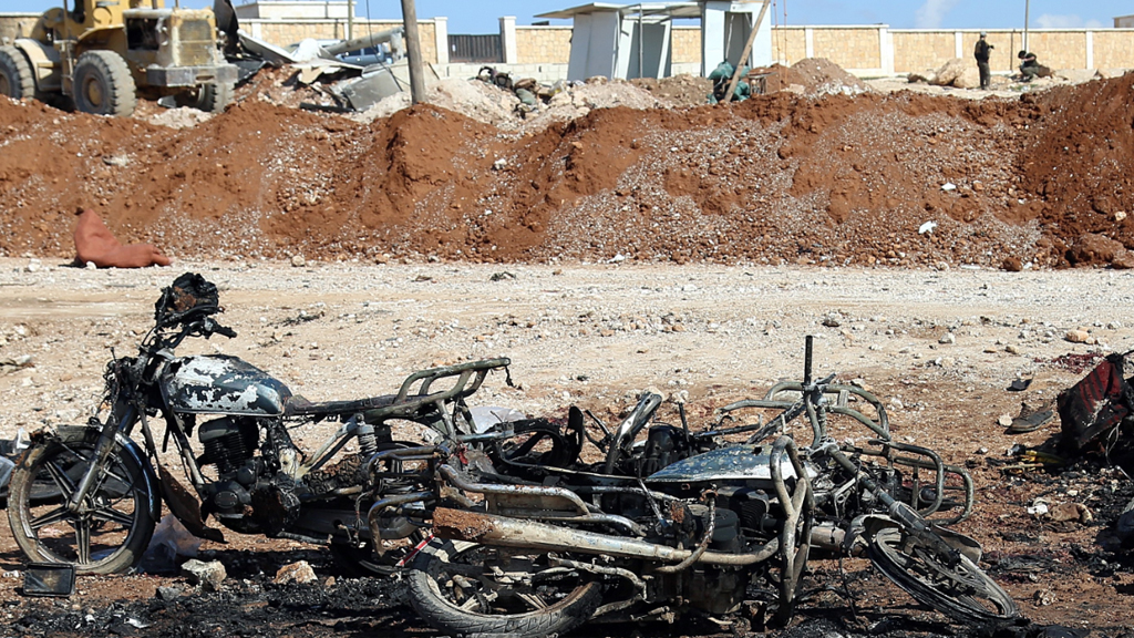 Sixty killed in attacks near Syrian town captured from ISIS