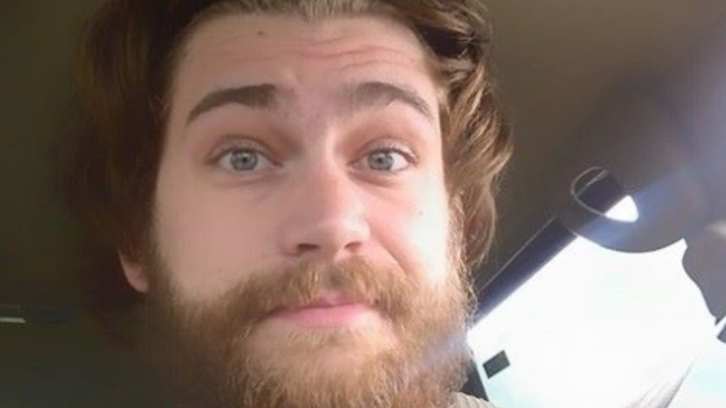 Ian Grillot, 24, remains in hospital after trying to intervene before the shooting. (Facebook)