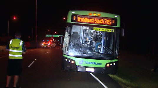 Young man fighting for life after being hit by Gold Coast bus