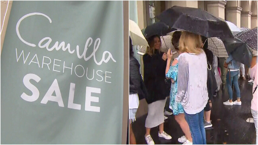 Accused shoplifter 'posed as security' at Camilla warehouse sale