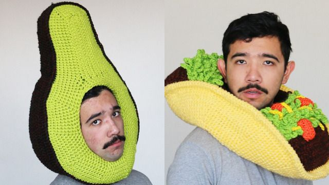 In pictures: The kooky crochet hats of Melbourne's 'Chili Philly'