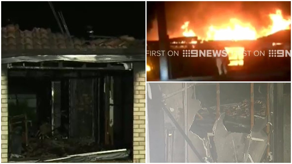 Family's home burns down for second time in four months in Brisbane blaze
