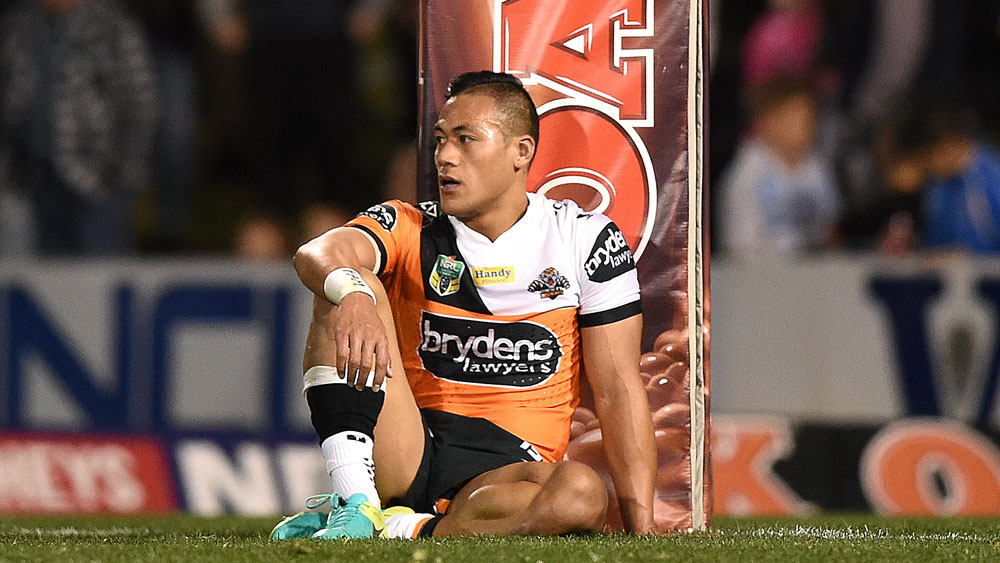 Wests Tigers centre Tim Simona.