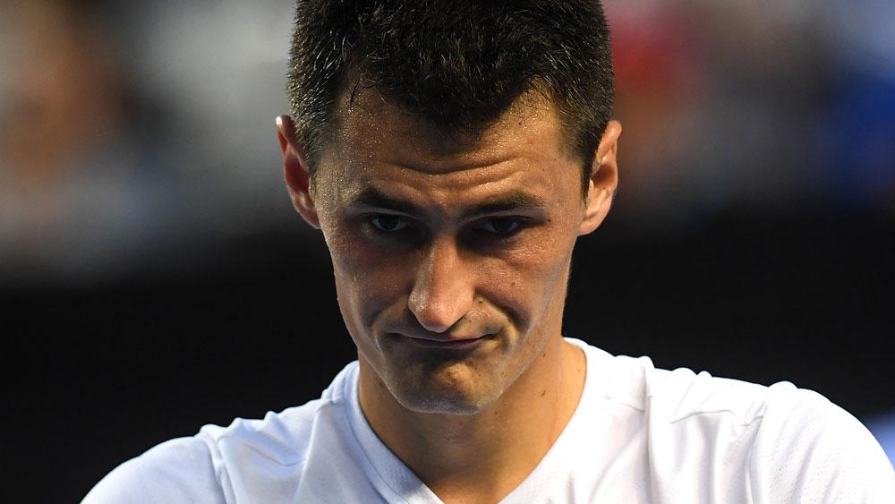 Australian tennis player Bernard Tomic.