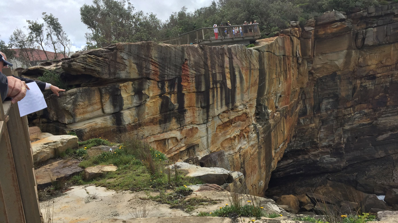 Judge retraces Caroline Byrne's last steps on Sydney clifftop