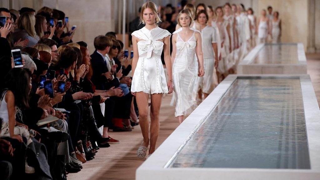 "Fashion brand Balenciaga said it had sacked its casting agency amid a furore over the ""sadistic"" mistreatment of models at Paris fashion week. (File/AFP)"