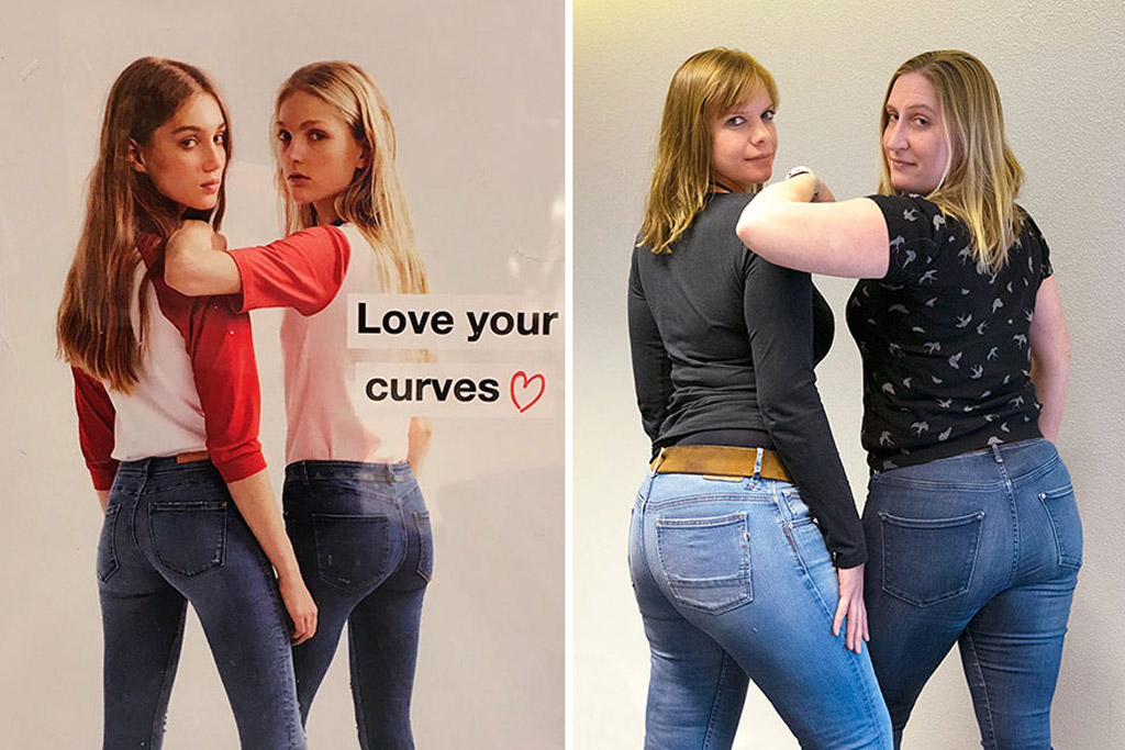 Woman mocks Zara's 'Love Your Curves' campaign