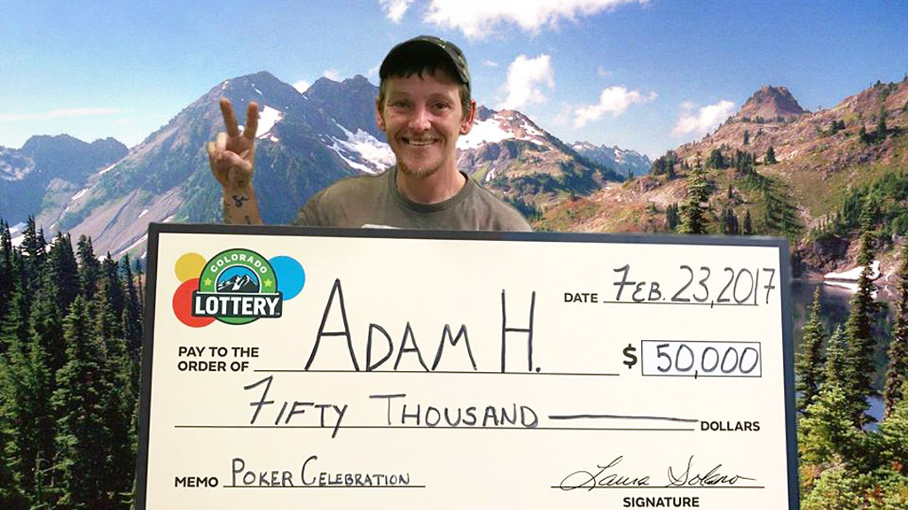 Homeless man wins $65,000 lotto after 'falling on hard times'