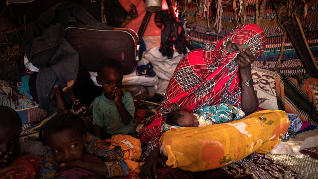 The UN estimates five million people need aid across the Horn of Africa nation. (AFP)