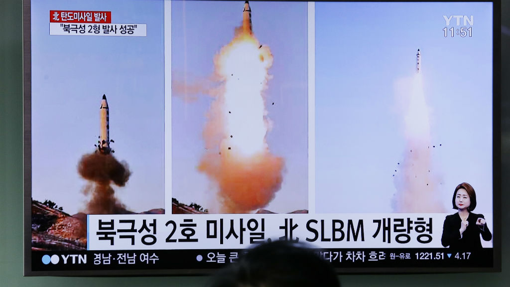 North Korea fires four ballistic missiles