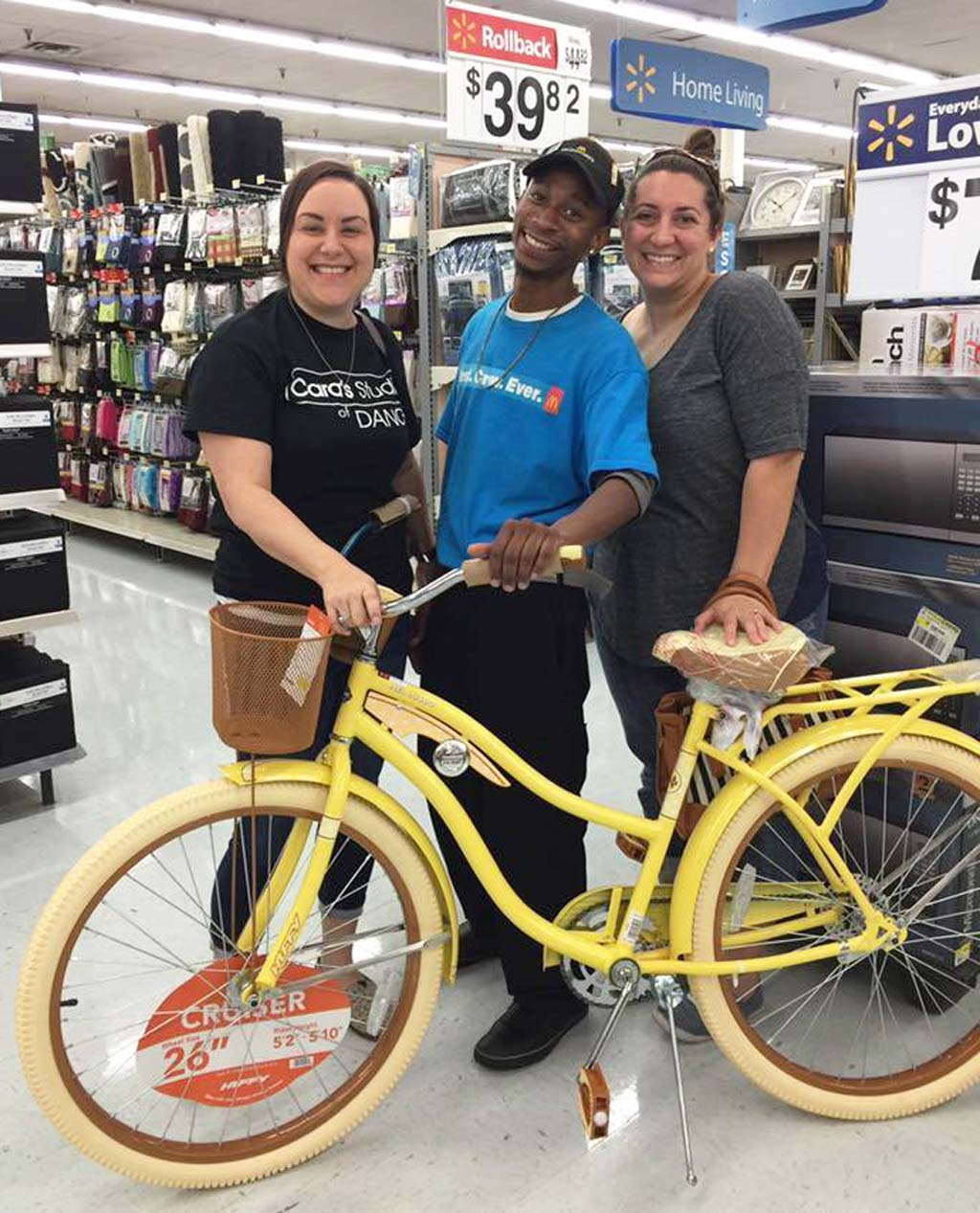 Community rallies to cover costs of bike for 'ray of sunshine' drive-thru attendant who struggled to get to work