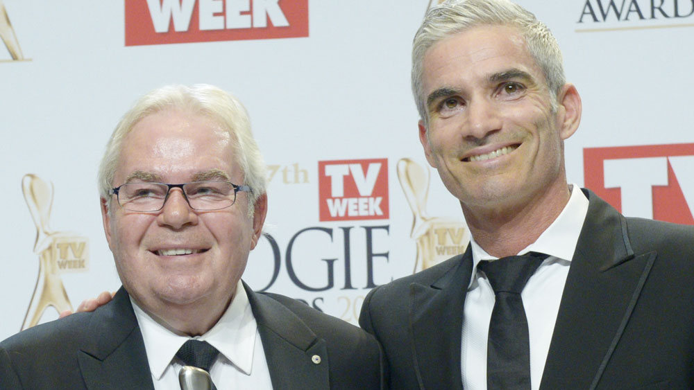 Les Murray and Craig Foster. (AAP)