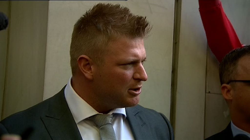 Blair Cottrell is fighting the charges. (9NEWS)