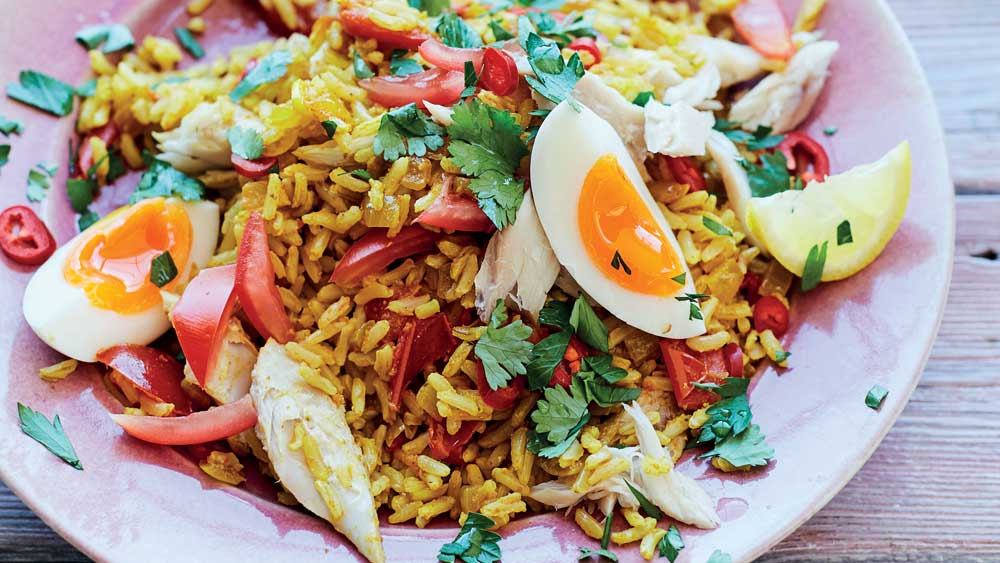 Mood-boosting kedgeree recipe by Rachel Kelly_Thumbnail