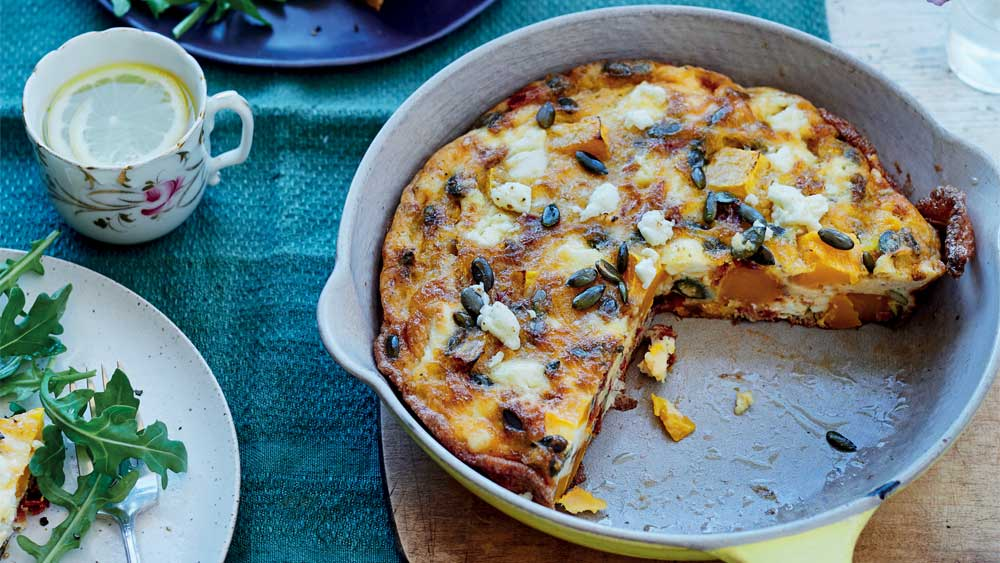 'Sweet dreams' butternut squash, sundried tomato and feta frittata by Rachel Kelly_Thumbnail