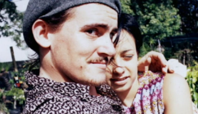 Richard Leonard and his girlfriend Denise Shipley.