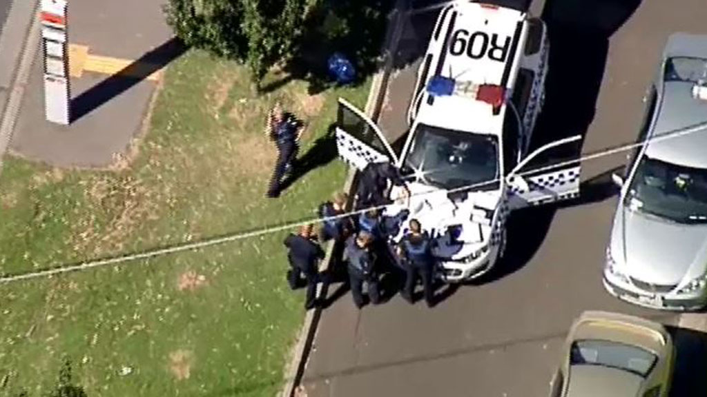 Man on-the-run after shooting at police in Melbourne's south-east